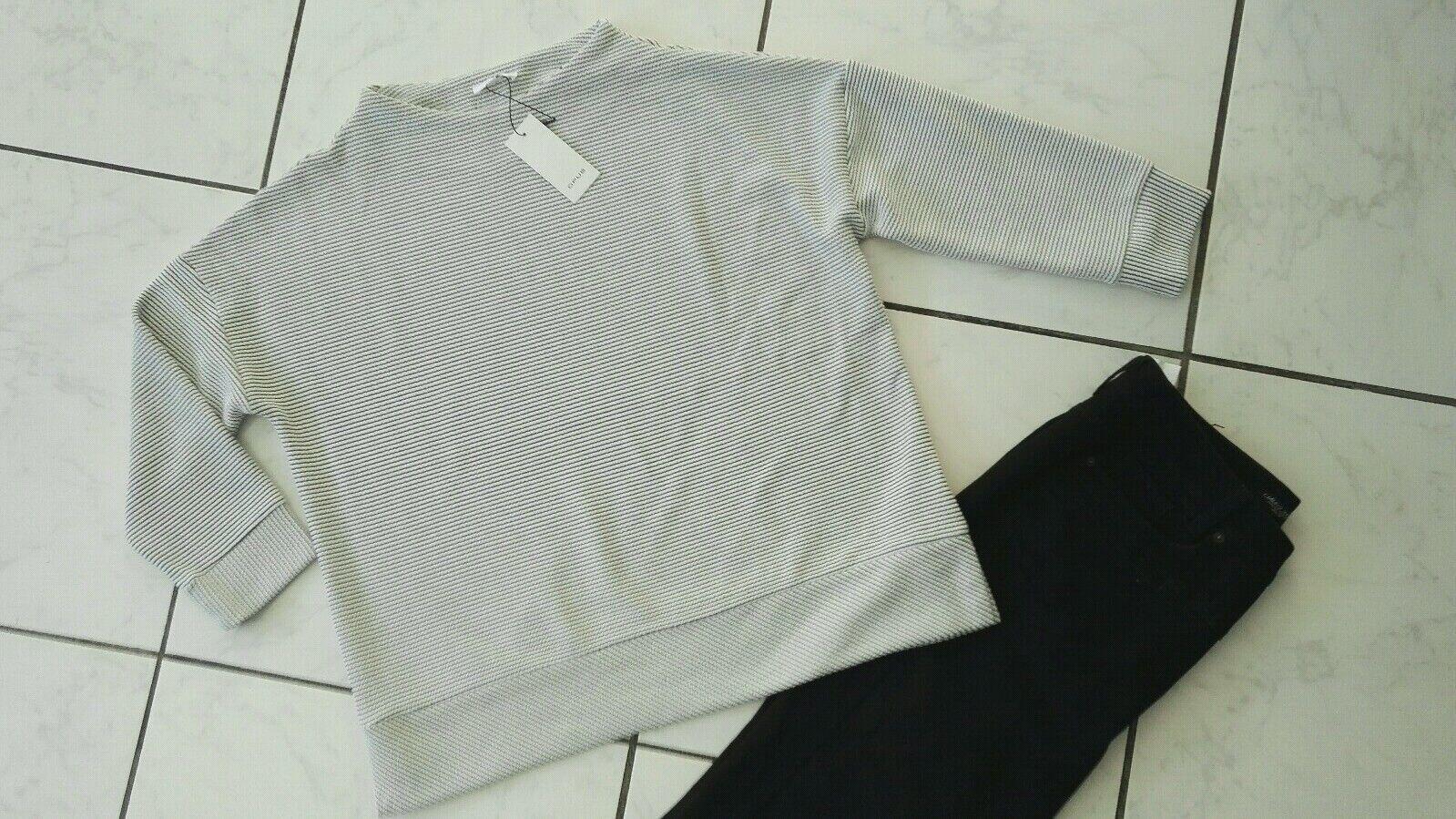 Super Opus Sweat-Shirt Size 38, Milk, Elastane, NEW