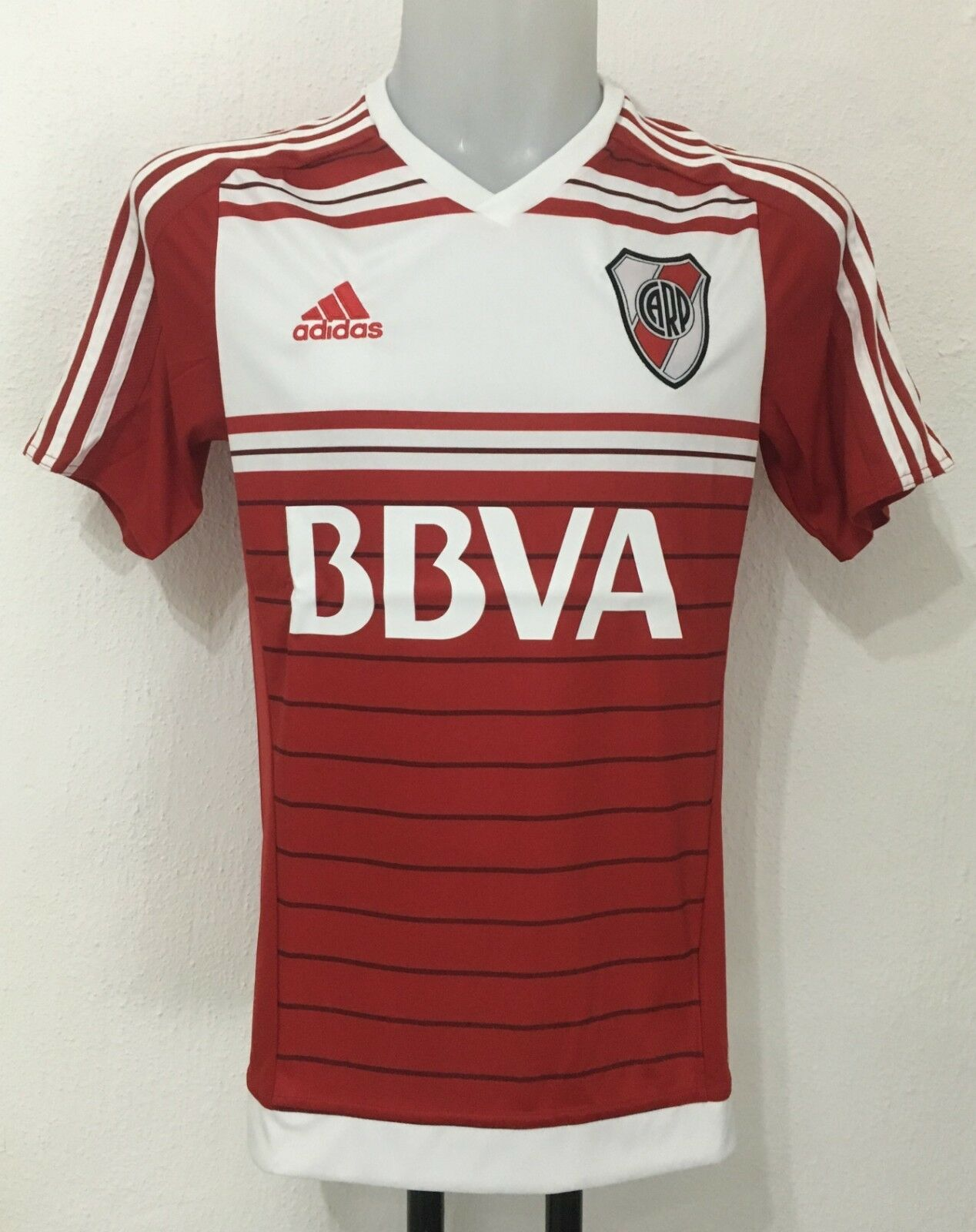 RIVER PLATE 2015 17 S S AWAY SHIRT BY ADIDAS SIZE MEN'S LARGE BRAND NEW