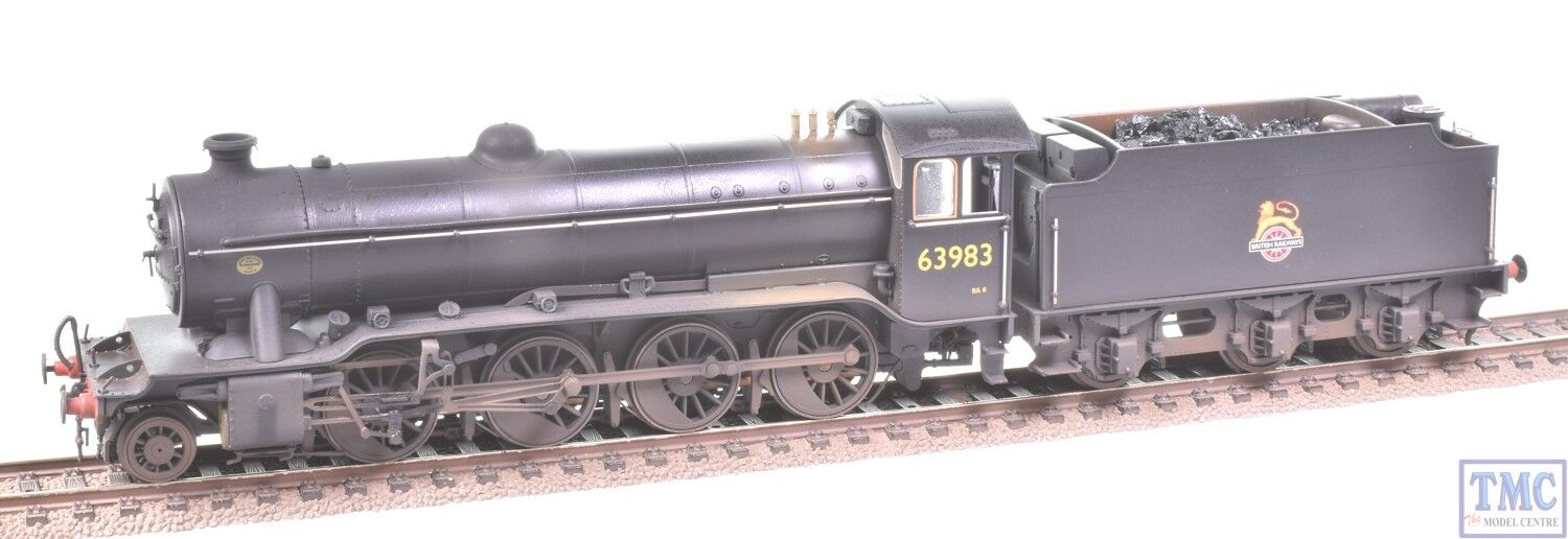 6603921 Heljan OO Gauge 2-8-0 Class O2 Tango 63983 Coal Glossed & Weathered