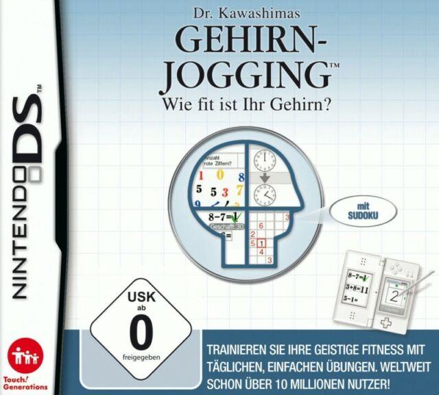 Nintendo DS juego - Dr. Kawashimas Gehirn Jogging en el embalaje usado