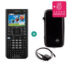 TI Nspire CX CAS Taschenrechner erweiterte Garantie + Ladekabel + Schutztasche