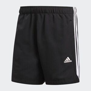Adidas-Essential-3-Stripe-Chelsea-Mens-Shorts-Original-Climalite-Gym-S-M-L-XL-XX