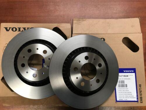 Genuine Volvo Rear Brake Discs pair of  31471824   Xc90 2003-2014