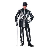 Bone Daddy Skeleton Adult Halloween Costume Men's Size Standard