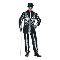 Bone Daddy Skeleton Adult Halloween Costume Men's Size Standard