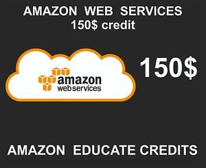 Details about EDU_ENG_Amazon AWS Credits, 150 USD, Educational Credits,  Stackable, 2021-06-30