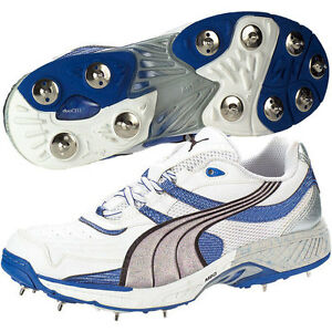 Details about *NEW* PUMA IRIDIUM II FULL SPIKE CRICKET SHOES BOOTS, RRP £85