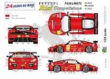 """[FFSMC Productions] Decals 1/24 Ferrari F-430 LMGT2 """"Team RISI"""" (LM 2009)"""