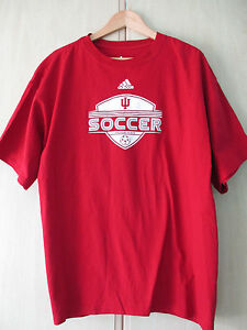 XL Tags Hoosiers Coton No Taille Neck Crew Nouveau Rouge Hommes Shirt Football Adidas T ZTXuOkPi