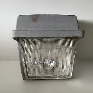 Vintage Mid-Century Modern Outdoor Light Fixture
