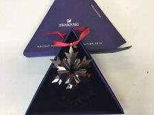 Swarovski Crystal 2018 Annual Edition Christmas Ornament Red 5460487