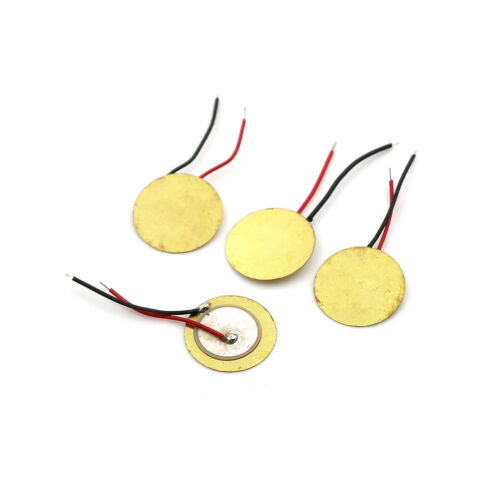 10X Piezoelectric Piezo Ceramic Wafer Plate Dia 15Mm For Buzzer Loudspeaker 0U