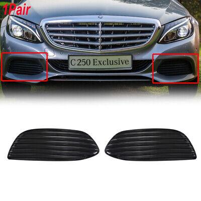 for 2012 2013 2014 Mercedes-Benz C63 LH Left Drive Fog Light Hole Chrome Molding