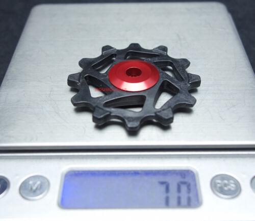 12T/&14T Ceramic Derailleur Pulley//Jockey Fit With SRAM XX1,X0,X1,GX,NX,X9,XX,X01