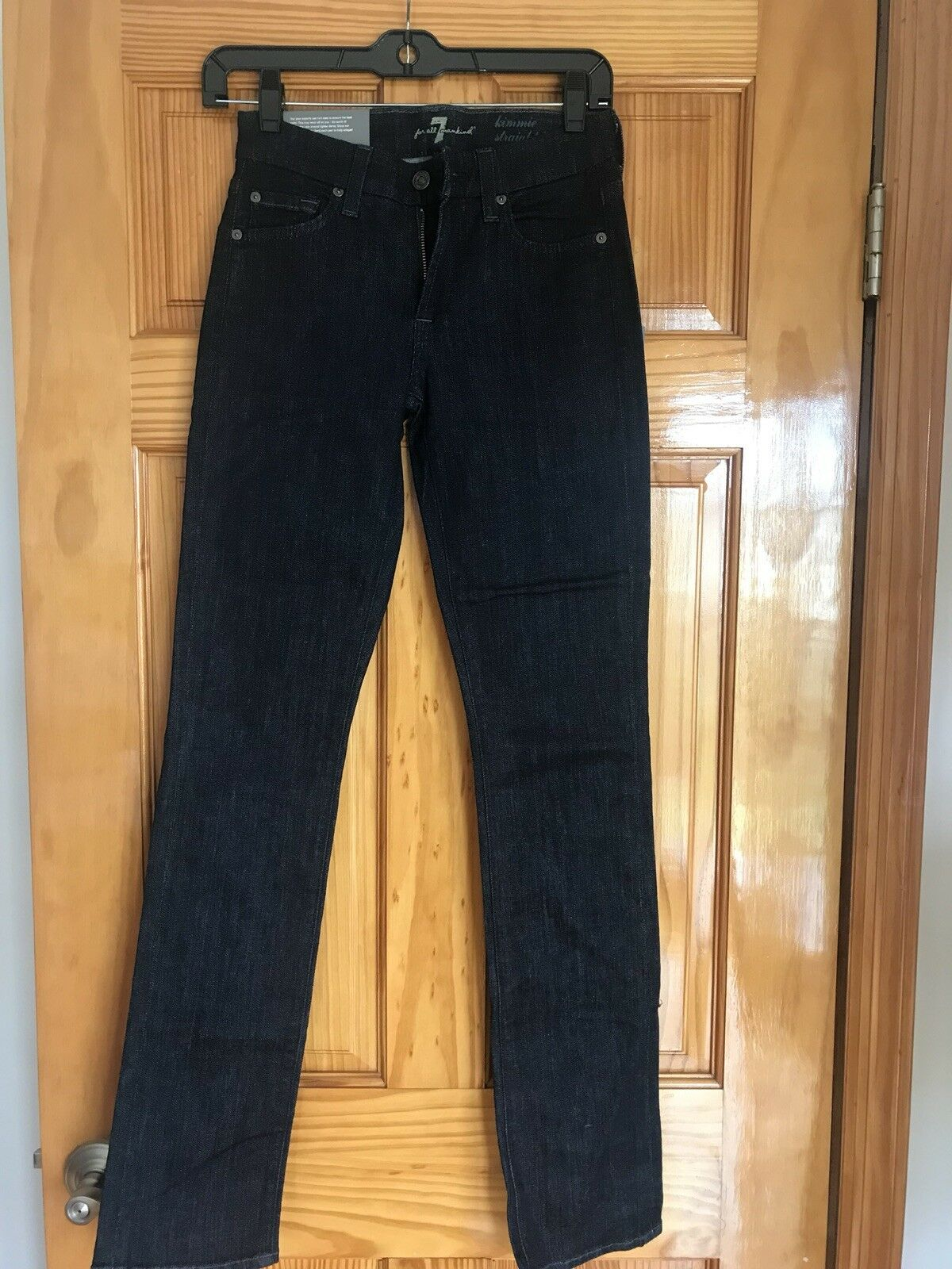 7 for ALL MANKIND JEANS  KIMMIE STRAIGHT  WOMENS JEANS Size 24