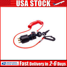 "11 Keys /& Lanyard 60/"" Long Dtlgear Universal Outboard Kill Switch Keys"