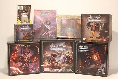 Arena In hand Harun KSE all in the Contest Dragori Kickstarter full pledge