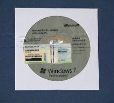 Microsoft Windows 7 PRO 64 Bit Full Version SP1 & ~Laptop Computer*