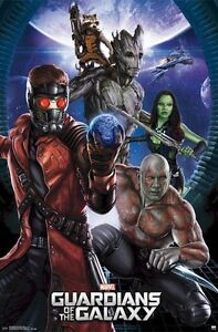 Image Is Loading GUARDIANS OF THE GALAXY PORTAL 22x34 MOVIE POSTER
