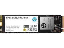HP EX920 M.2 1TB PCIe 3.0 x4 NVMe 3D TLC NAND Internal Solid State Drive (SSD)