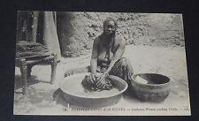 CPA CARTE POSTALE 1910 EGYPTE EGYPT SOUDANESE WOMAN INDIGENE SOUDAN POSTCARD