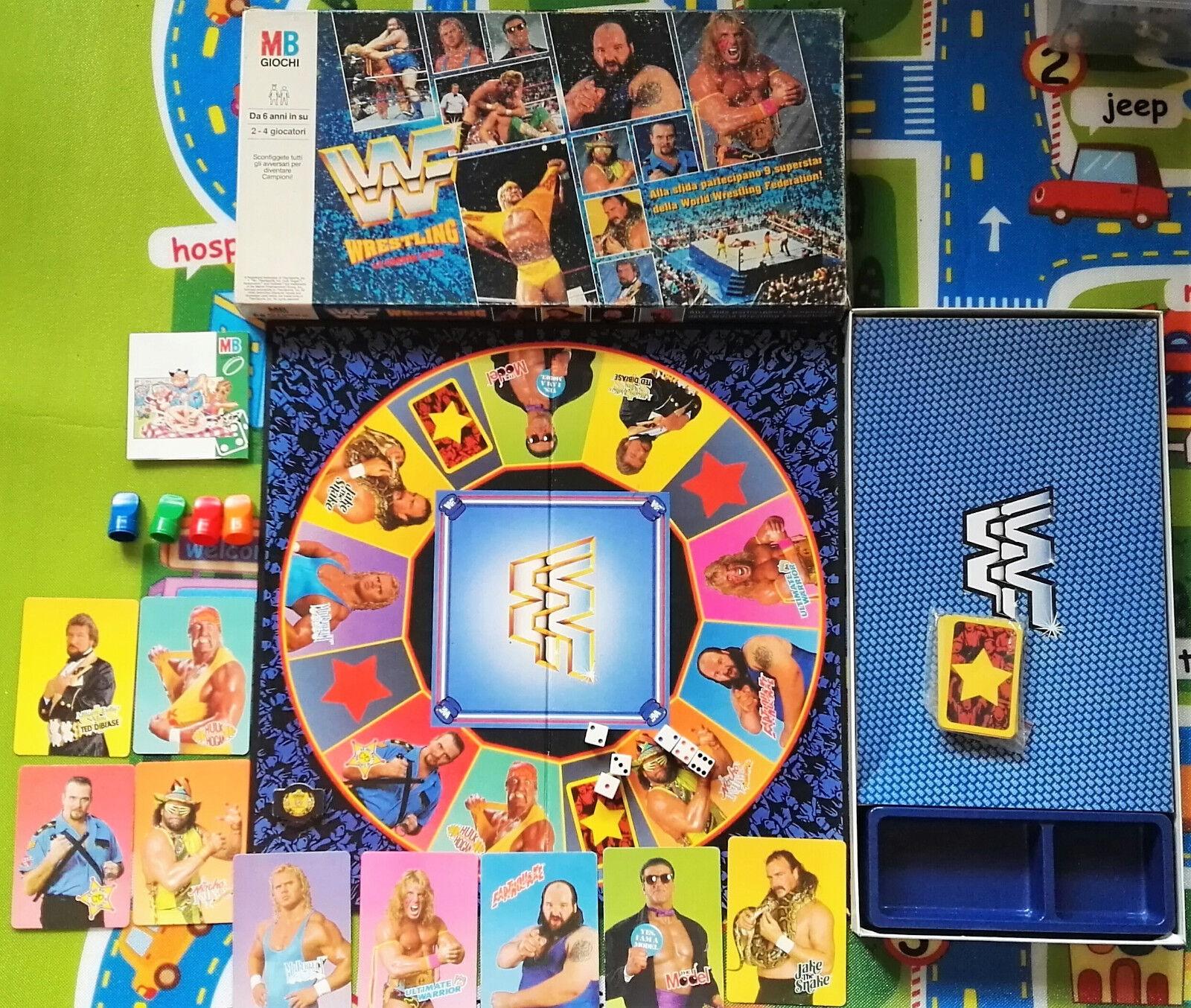 Gioco da da da tavolo - WF Wrestling - La grande sfida COMPLETO ITALIANO 5dbabf