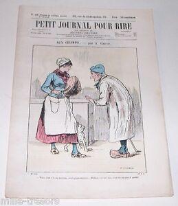 Revue-Illustree-PETIT-JOURNAL-pour-RIRE-N-50-31eme-Annee-AUX-CHAMPS-GREVIN