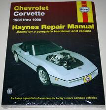 Reparaturanleitung / Repair Manual Chevrolet Corvette C4, Baujahre 1984 - 1996