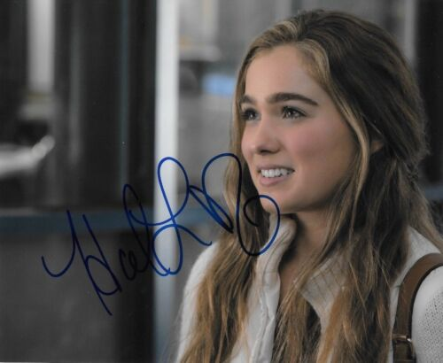 HALEY LU RICHARDSON signed autographed 8x10 photo THE EDGE OF SEVENTEEN 3