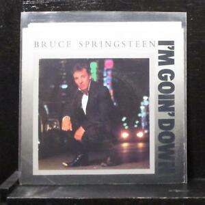 Bruce-Springsteen-I-039-m-Goin-039-Down-7-034-Mint-Vinyl-45-Columbia-38-05603-USA-1985