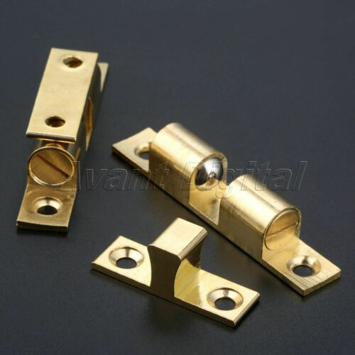 Details about  /Cupboard Drawer Cabinet Door Latch Clip Lock Dual Ball Touch Catch Hardware 70mm