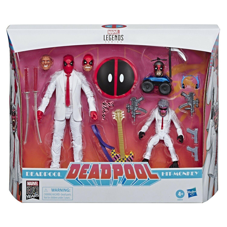 Marvel Legends Suits - Deadpool & Hit Monkey 2-pack IN STOCK