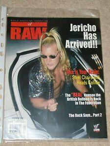 WWF-MAGAZINE-RAW-NOVEMBER-1999-WRESTLING-CHRIS-JERICHO-COVER-WWE