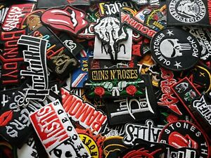 Logo-Band-Punk-Rock-Heavy-Metal-Patch-Iron-Embroidered-Sew-on-jeans-hat-bag