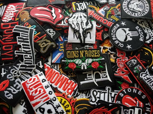 Embroidered Patch Iron Sew thrash music rock band heavy metal SYSTEM OF A DOWN