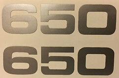 YAMAHA XS650 SIDE PANEL DECALS