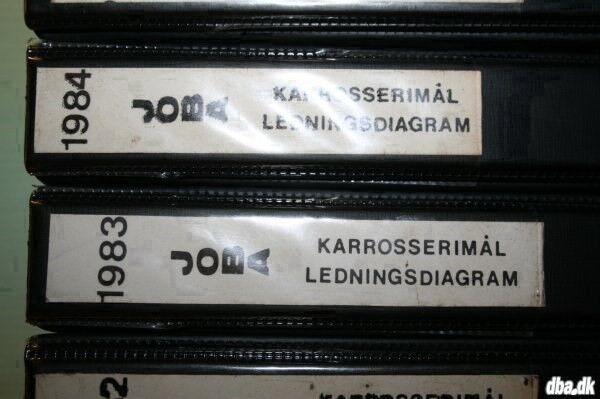 Autodata: JOBA Karosserimål og ledningsdiagram...