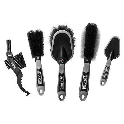Muc-Off Bike Component Five Cleaning Cycling Brush Set