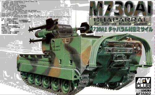 KIT AFV CLUB 1//35 n° 35002 Système missile US autotracté M730A1 Chaparral