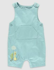 71fd6be51 Image is loading PETER-RABBIT-Bib-shorts-Dungarees-amp-Bodysuit-Set-