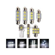 7 x  White Interior LED lights Kit for 2001-2005 Honda Civic Coupe & Sedan Lamp