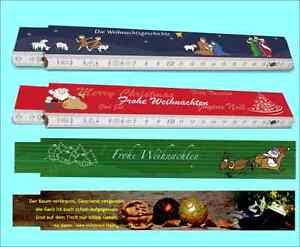 4-Stk-Gliedermassstaebe-Weihnachten-mit-unterschiedlichen-Motiven