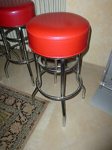 barhocker diner retro. Black Bedroom Furniture Sets. Home Design Ideas