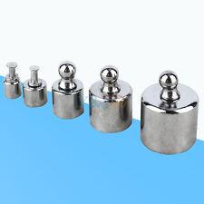 5Pc 1g 2g 5g 10g 20g Precision Calibration Weight Set Jewelry Scale Balance Test