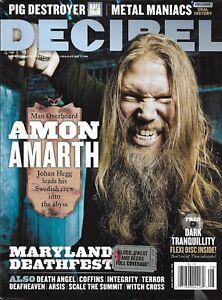 Decibel Music Magazine Amon Amarth Maryland Deathfest Pig Destroyer Death Angel