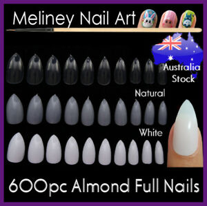600pc-Almond-Nails-Full-Cover-Stiletto-Pointy-False-Tips-Oval-Claw-artificial