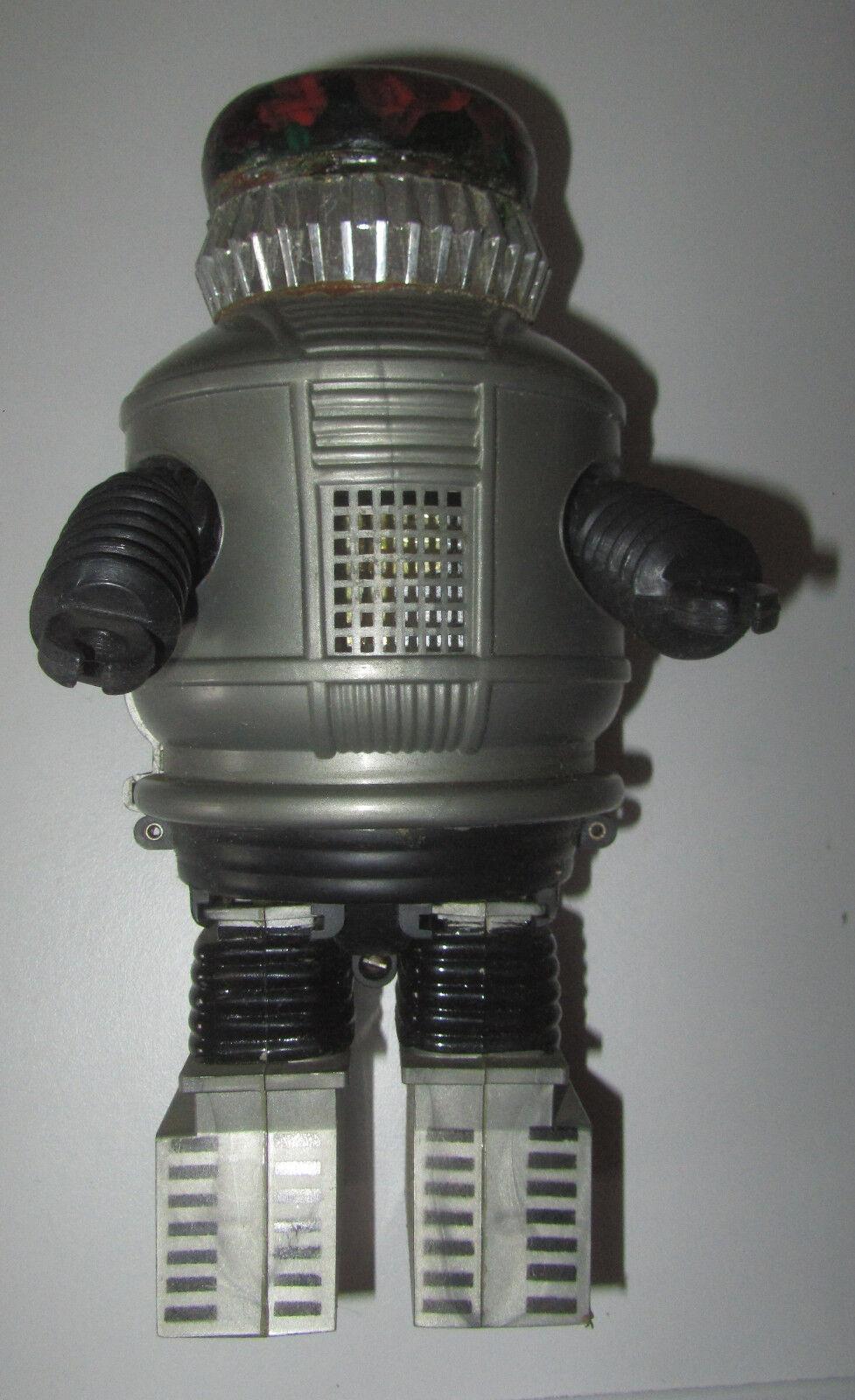 Vintage AHI Hong Kong Plastic Battery Op Lost In Space YM3 Robot 2 SPESE GRATIS