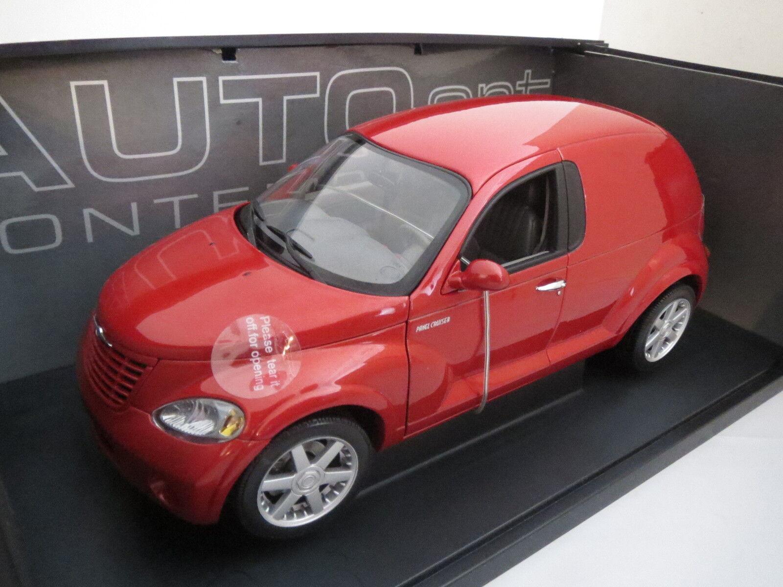 AutoArt Chrysler Panel Cruiser in rotmetallic im im im Maßstab 1 18, TOP  OVP, Neuw. 2fb5a3