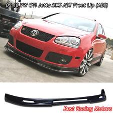 05-10 VW GTI Jetta MK5 A Style Front Bumper Lip (ABS)