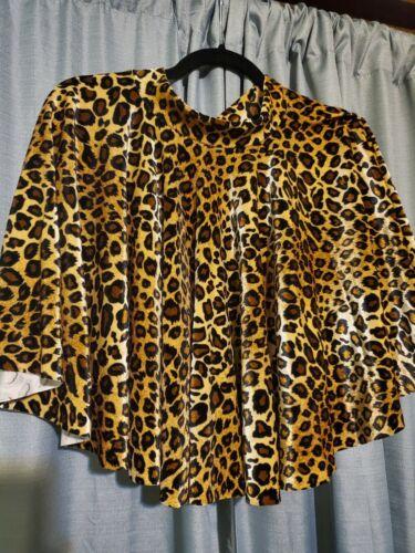 Blackmilk Velvet Leopard Print Mini Skirt Medium